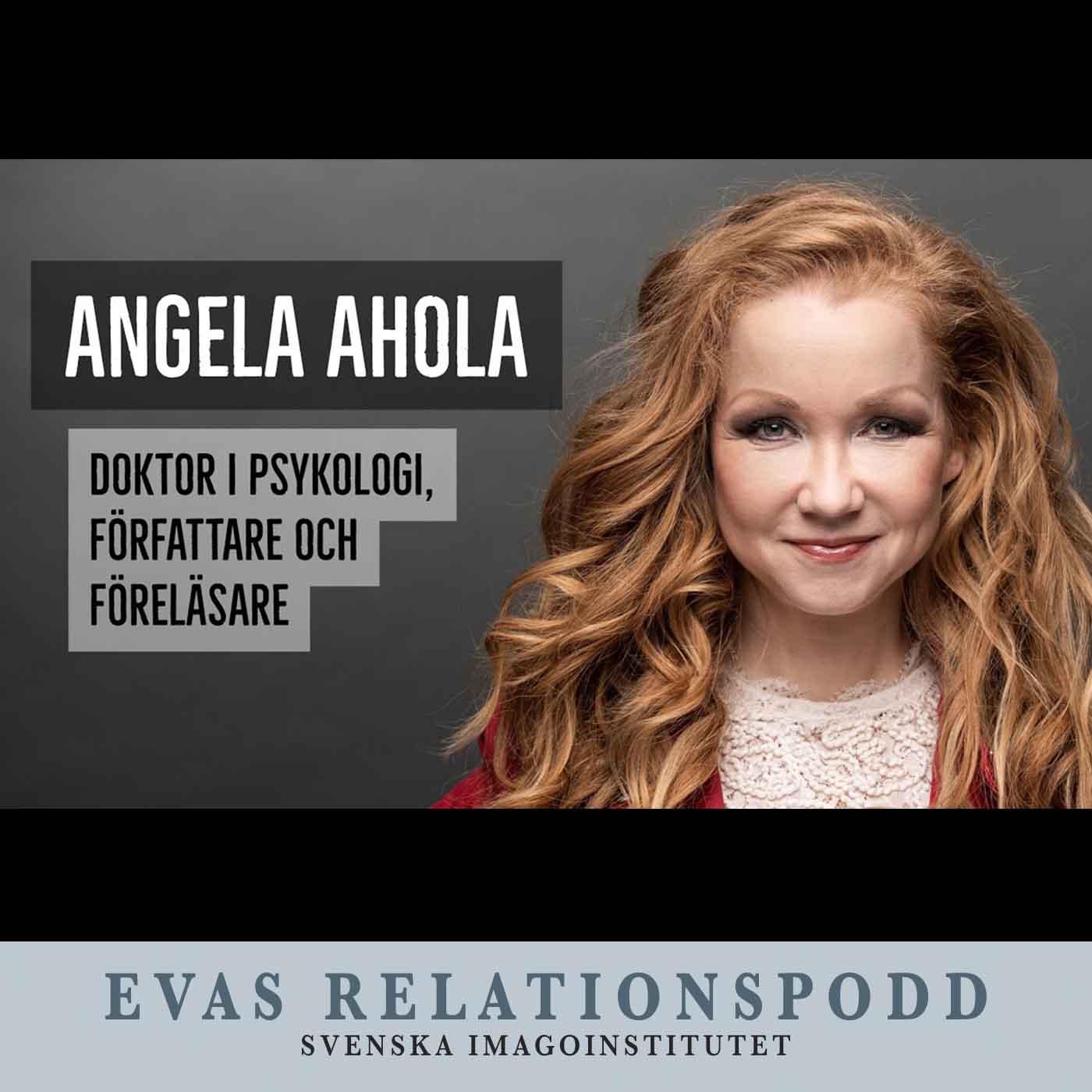 #128 – Eva Berlander möter doktorn, författaren och inspirationsföreläsaren Angela Ahola